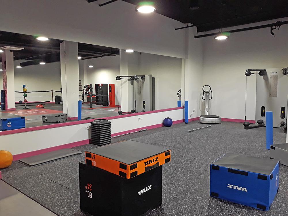Zona entrenamiento personal